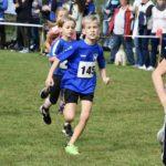 Niklas als zweiter in seinem Lauf