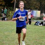 Niels als Gewinner des Laufes