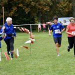 Sylvia angefeuert auf den letzten 100 m