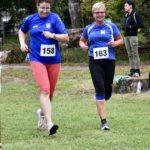 Antje und Doreen liefen die Strecke Seite an Seite